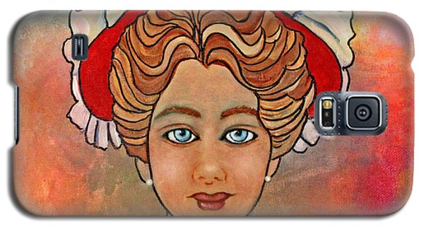 Victorian Lady-a Galaxy S5 Case