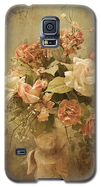 Victorian Rose Floral Galaxy S5 Case
