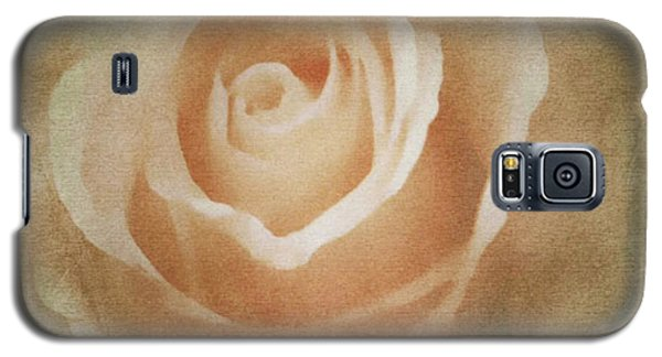 Victorian Vintage Pink Rose Galaxy S5 Case