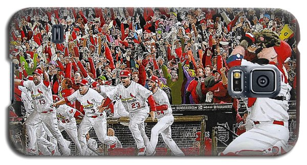 Victory - St Louis Cardinals Win The World Series Title - Friday Oct 28th 2011 Galaxy S5 Case