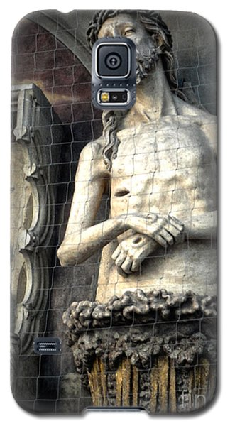 Vienna Austria - St. Stephen's Cathedral - Christ Galaxy S5 Case by Gregory Dyer