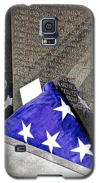 Viet Nam Memorial Washington Galaxy S5 Case by Bob Pardue