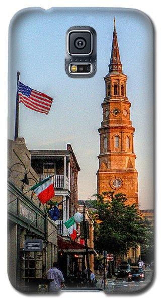 View Down Church Street Galaxy S5 Case