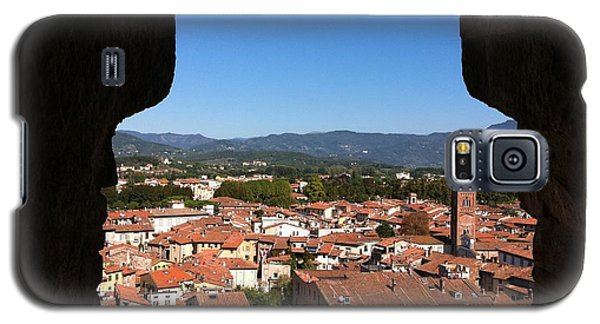 View From A Tower Window In Lucca Galaxy S5 Case