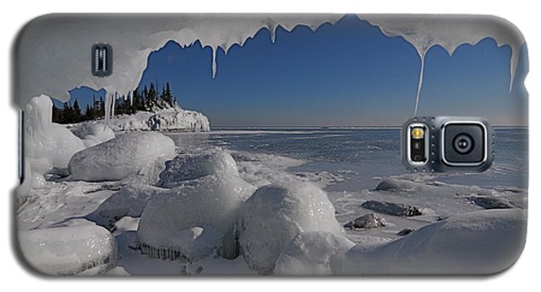 View From An Ice Cave Galaxy S5 Case by Sandra Updyke