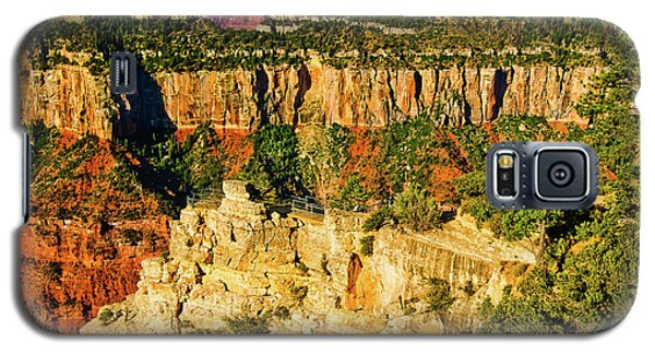 Galaxy S5 Case featuring the photograph View From Angel Point  by Bob and Nadine Johnston
