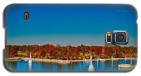 View From Art Hill Forest Park Missouri Galaxy S5 Case