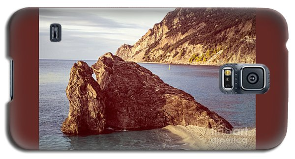 View From Beach Of Monterosso Galaxy S5 Case