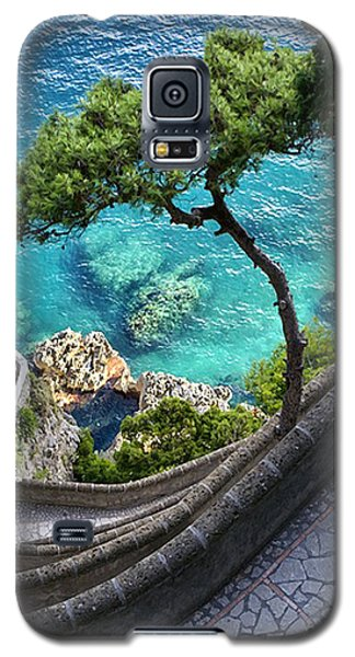 View From Capri.italy Galaxy S5 Case by Jennie Breeze