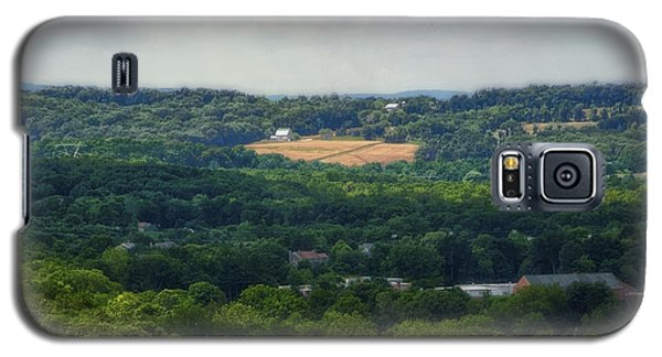 Galaxy S5 Case featuring the photograph View From Goat Hill by Debra Fedchin