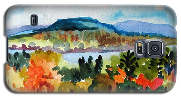 View From Kripalu In Fall Galaxy S5 Case