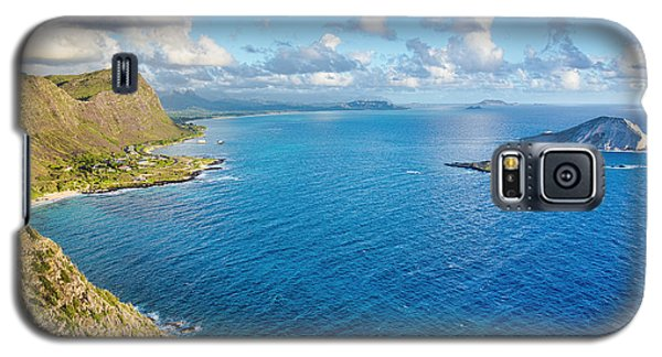 Galaxy S5 Case featuring the photograph View From Makapuu Point by Aloha Art