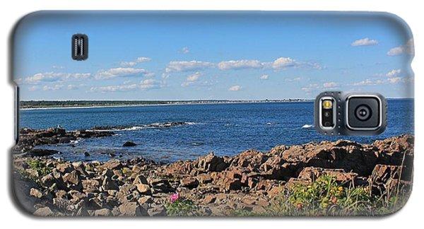 View From Marginal Way Ogunquit Maine 3 Galaxy S5 Case