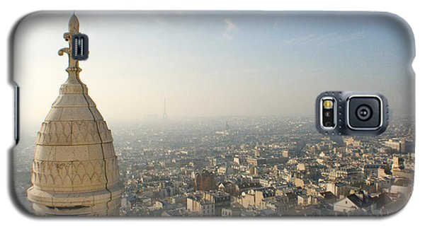 Galaxy S5 Case featuring the photograph View From Montmartre by Jon Emery