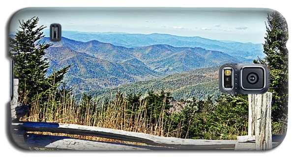 View From Mt. Mitchell Summit Galaxy S5 Case