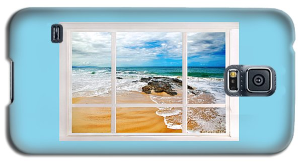 View From My Beach House Window Galaxy S5 Case by Kaye Menner
