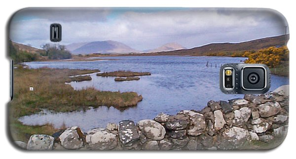 Galaxy S5 Case featuring the photograph View From Quiet Man Bridge Oughterard Ireland by Charles Kraus