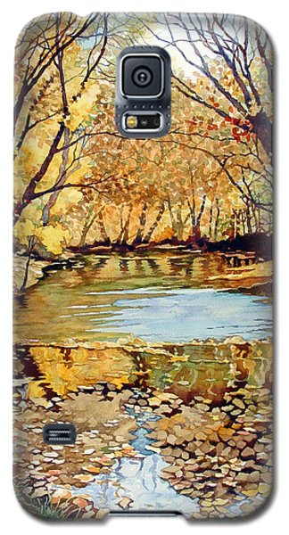 View From The Covered Bridge Galaxy S5 Case