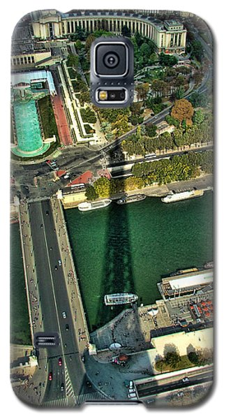 View From The Eiffel Tower Galaxy S5 Case