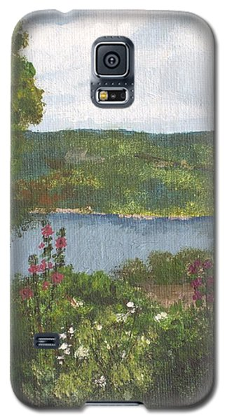 View From The Garden Galaxy S5 Case