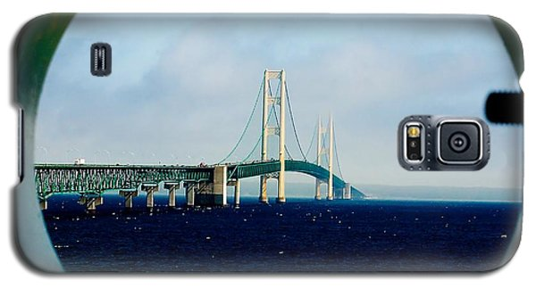 View From The Mackinac Light Galaxy S5 Case