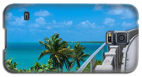 View From The Old Bahia Honda Bridge Galaxy S5 Case