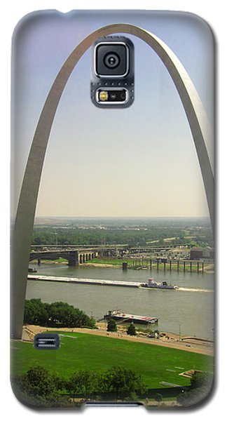 View From The Top Of The Riverfront Galaxy S5 Case by Garry McMichael