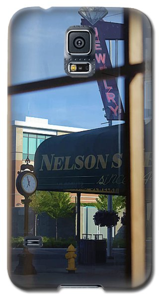 View From The Window Auburn Washington Galaxy S5 Case by Cathy Anderson