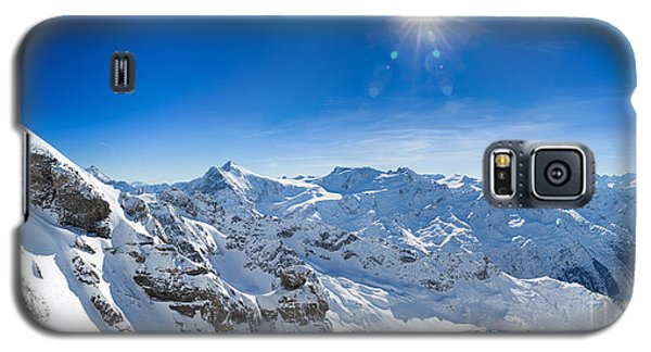 View From Titlis Mountain Towards The South Galaxy S5 Case