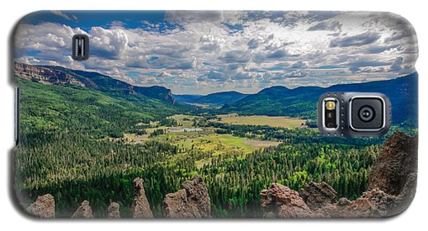 View From Wolf Creek Pass Galaxy S5 Case
