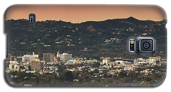 View Of Buildings In City, Beverly Galaxy S5 Case by Panoramic Images