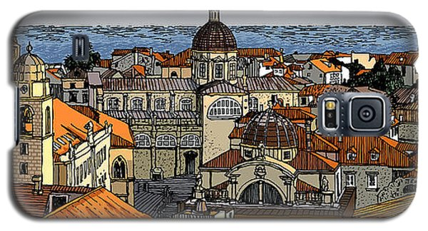 View Of Dubrovnik Galaxy S5 Case