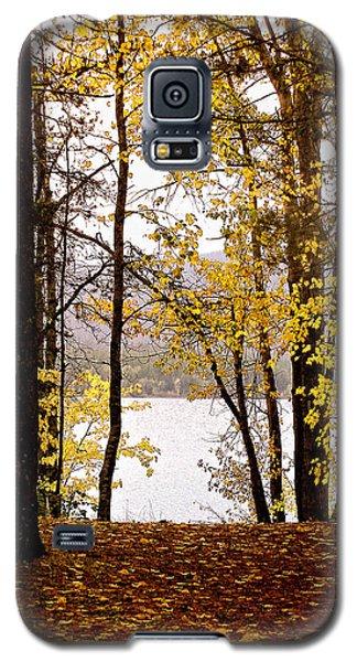 View Of  Lake Mcdonald Galaxy S5 Case