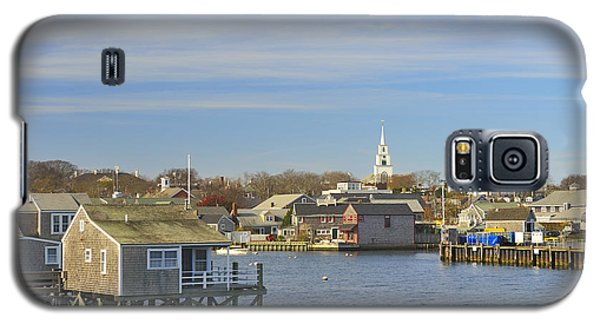 View Of Nantucket From The Harbor Galaxy S5 Case by Marianne Campolongo