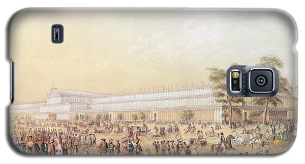 View Of The Crystal Palace Galaxy S5 Case by George Baxter