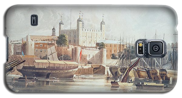 View Of The Tower Of London Galaxy S5 Case by John Gendall