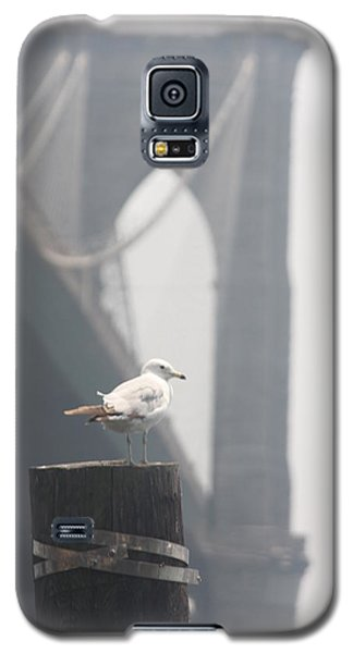Galaxy S5 Case featuring the photograph View On Brooklyn Bridge by Vadim Levin