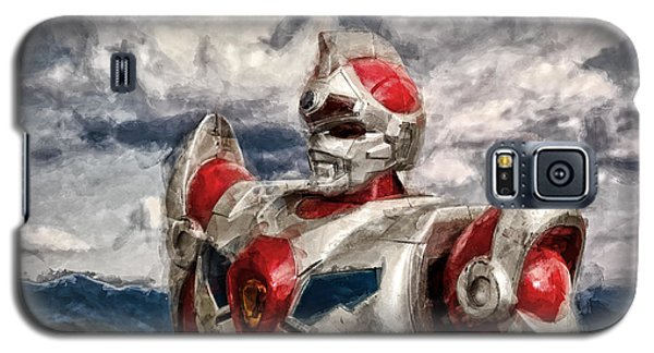 View Wth A Robot Galaxy S5 Case by Jeff  Gettis