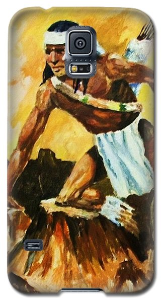 Vigil From The Mesa Galaxy S5 Case by Al Brown