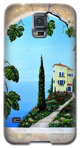 Villa By The Sea Galaxy S5 Case