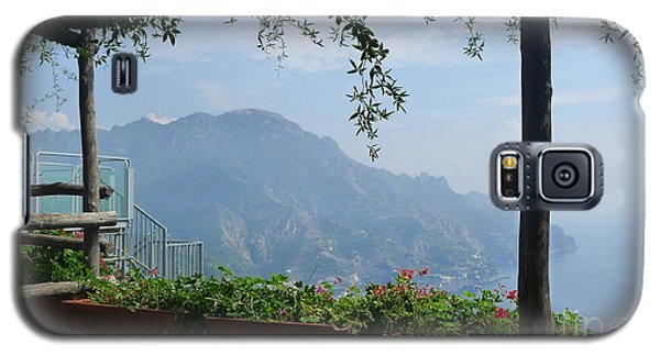 Galaxy S5 Case featuring the photograph Villa Rufolo Ravello by Nora Boghossian