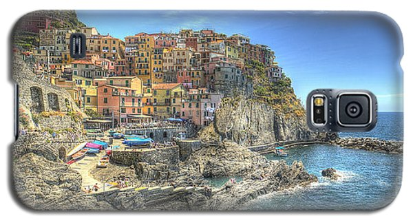 Village Of Manarola Galaxy S5 Case by Alex Dudley