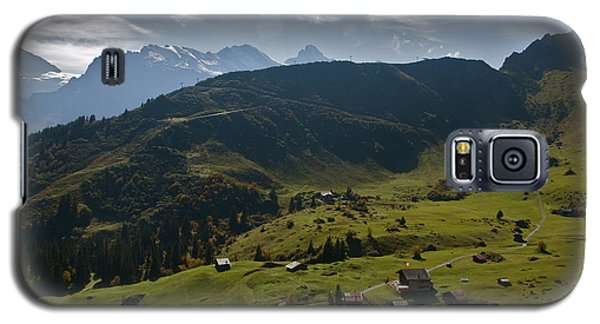 Village Of Spielbodenalp Switzerland Galaxy S5 Case