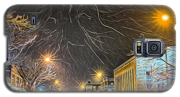 Village Winter Dream - Square Galaxy S5 Case