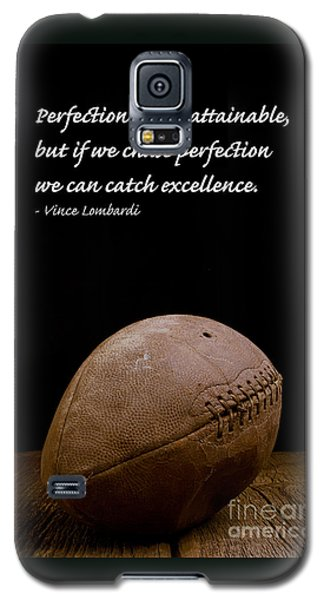 Vince Lombardi On Perfection Galaxy S5 Case