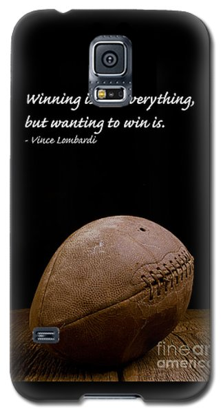 Vince Lombardi On Winning Galaxy S5 Case