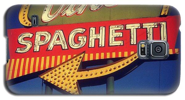 Vinces Spaghetti Sign Galaxy S5 Case