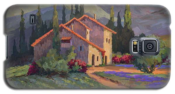 Vineyard And Lavender In Provence Galaxy S5 Case