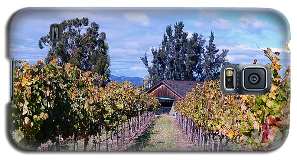 Livermore - Vineyard Barn Galaxy S5 Case by Haleh Mahbod
