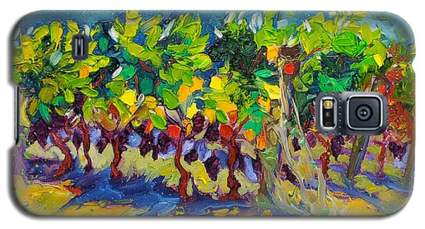 Vineyard Harvest Oil Painting Galaxy S5 Case